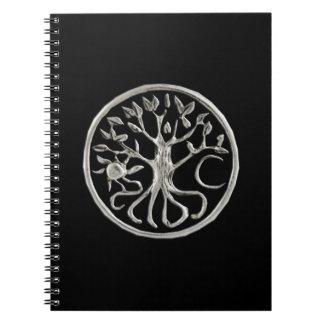 螺線形ノート生命の樹 ノートブック