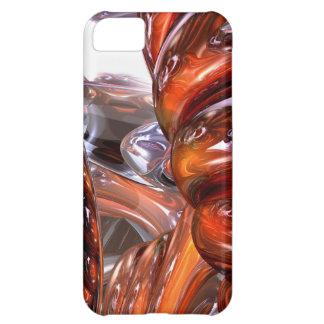 螺線形次元の抽象芸術 iPhone5Cケース