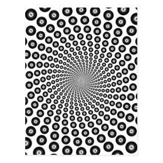 螺線形8球: ポストカード