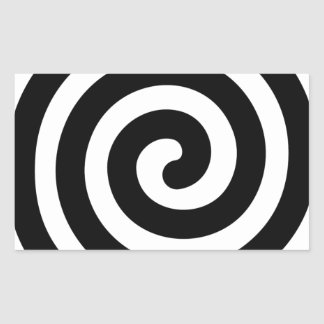 螺線形 長方形シール