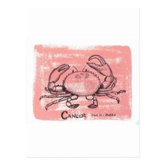 蟹座のカニ ポストカード