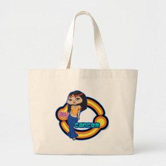 蟹座のトートバック ラージトートバッグ