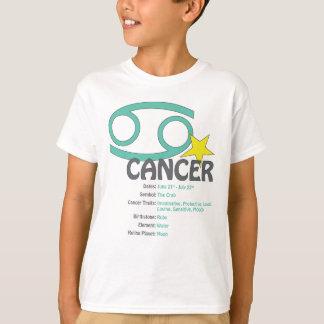 蟹座の特性の子供のTシャツ Tシャツ