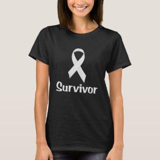 蟹座の生存者の白 Tシャツ