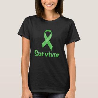 蟹座の生存者の緑 Tシャツ