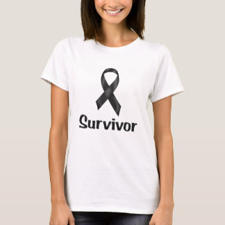 蟹座の生存者の黒 Tシャツ