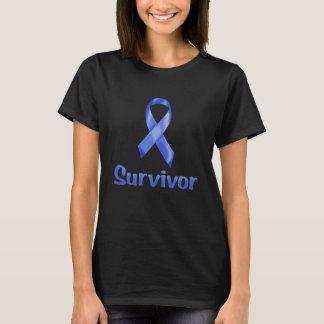 蟹座の生存者海軍 Tシャツ