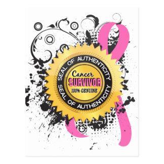 蟹座の生存者23の乳癌 ポストカード