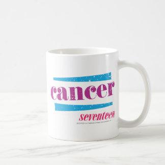 蟹座の紫色 コーヒーマグカップ