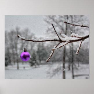 蟹座の認識度のクリスマスのプリント ポスター