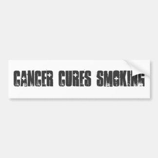 蟹座は喫煙を治します バンパーステッカー