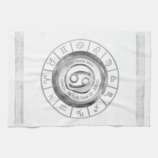 蟹座-カニの占星術のな印 キッチンタオル
