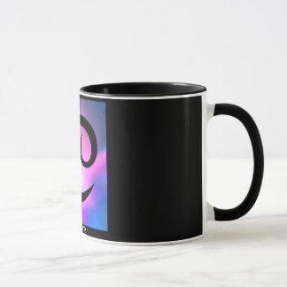 """""""蟹座"""" 11のoz。 (占星術の)十二宮図の信号器のコーヒーカップ マグカップ"""