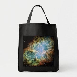 蟹星雲の超新星NASA トートバッグ