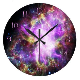 蟹星雲 ラージ壁時計