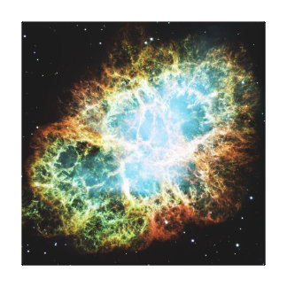 蟹星雲M1 NGCの1952年のトーラスA キャンバスプリント