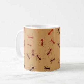 蟻のおどけ コーヒーマグカップ