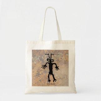 蟻の人の岩石彫刻 トートバッグ