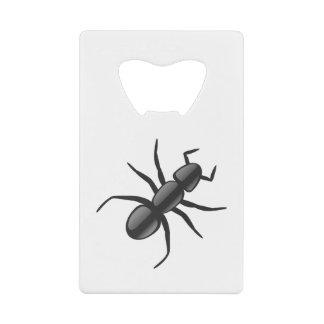 蟻 クレジットカード栓抜き
