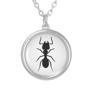 蟻 シルバープレートネックレス