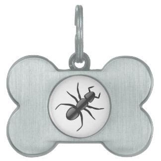 蟻 ペットネームタグ