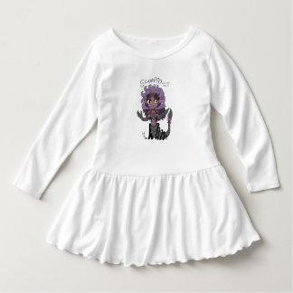 蠍座のチビ(小さくかわいく書いた感じ)のベビーの服 ドレス