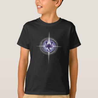 蠍座の占星術のラベンダー Tシャツ
