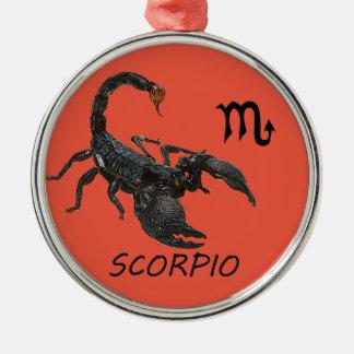 蠍座の占星術 メタルオーナメント