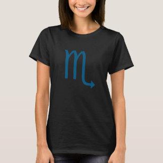 蠍座の印の(占星術の)十二宮図のCosplayのTシャツ Tシャツ
