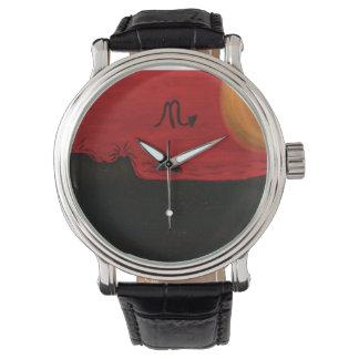 蠍座の激怒 腕時計