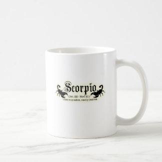 蠍座 コーヒーマグカップ