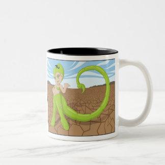 蠍座-蠍 ツートーンマグカップ