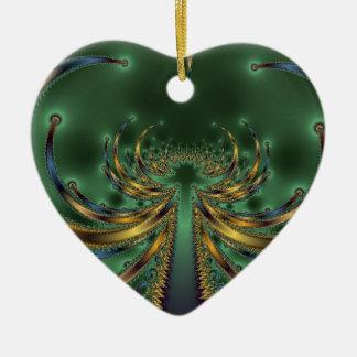 蠍王GREEN FRACTAL ART セラミックオーナメント