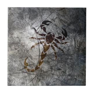 蠍 タイル