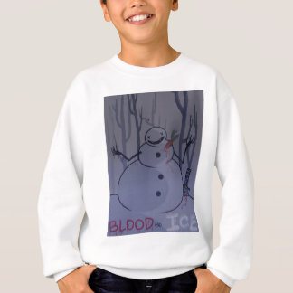 血および氷の写真#2 スウェットシャツ