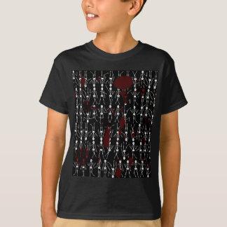 血および骨組 Tシャツ