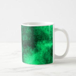 血しょうマグ-緑 コーヒーマグカップ
