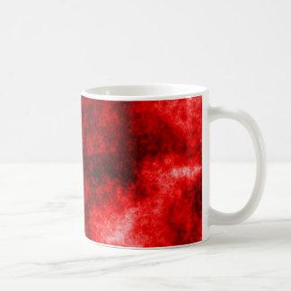 血しょうマグ-赤 コーヒーマグカップ