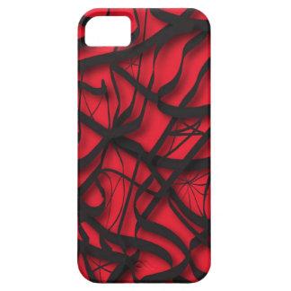 血のくもの巣 iPhone 5 カバー