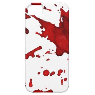 血のはねの電話箱 iPhone 5 ケース