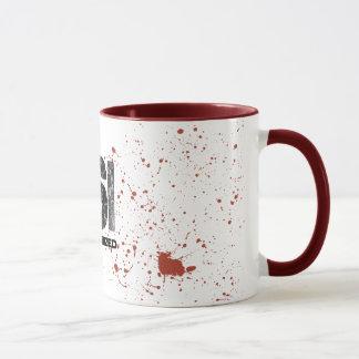 血のはねCSIの無許可のマグ マグカップ