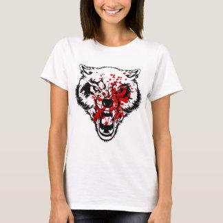 血のオオカミ Tシャツ