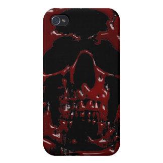 血のスカル iPhone 4 COVER
