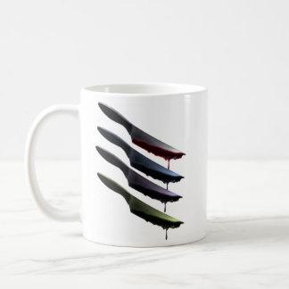 血のナイフ コーヒーマグカップ