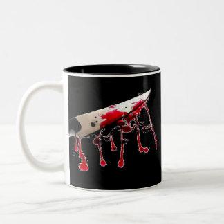 血のナイフII ツートーンマグカップ