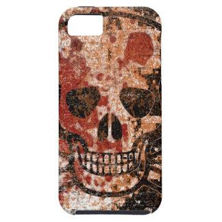 血の低下のスカル iPhone 5 COVER