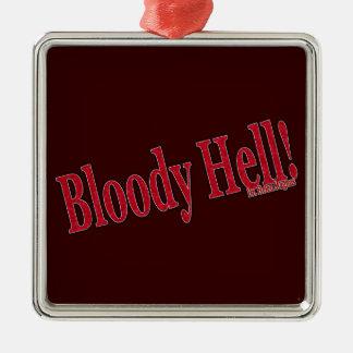血の地獄 メタルオーナメント