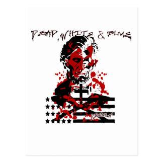 血の旗アブラハムリンカーン ポストカード