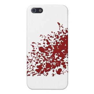 血の染み iPhone 5 カバー