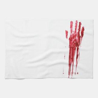 血の殺害 キッチンタオル